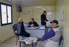 Melilla: il box della dogana