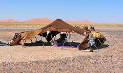 Merzouga: tenda berbera