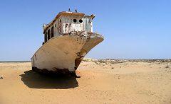 Muynak: le barche