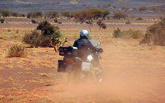 Marco nel deserto presso Akjoujt