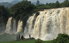 Cascate del Nilo Azzurro