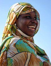 Nouadhibou: elegante signora