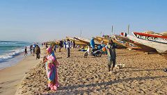 Nouakchott: barche