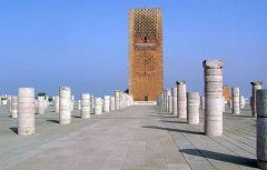 Rabat: torre Hassan