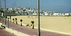 Tangeri: la spiaggia