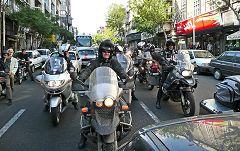 Theran: traffico e moto