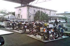Taskent: spedizione moto