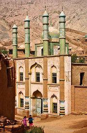 Moschea in Turfan