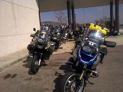 Valencia: le moto