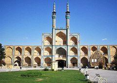 Yazd: palazzo Takyeh Amir Chakhmagh