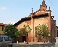 San Cristoforo: la chiesa