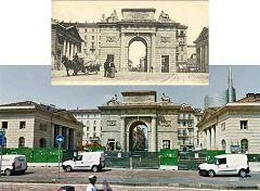Porta Comasina (Piazza XXV Aprile)