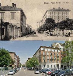 Piazza Sant'Agostino - Via Olona