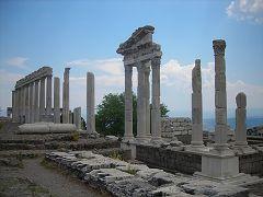 L'acropoli di Pergamon
