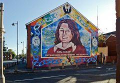 Belfast: murale Bobby Sands