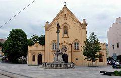 Bratislava: chiesa dei Capuccini