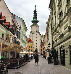 Bratislava: porta San Michele