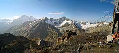 Garabashi: funivia sul ghiacciaio