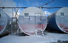 Barrel Huts 2
