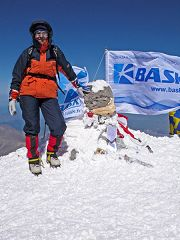 Elbrus: cima ovest