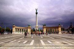 Hosök Tere (Piazza degli Eroi)
