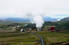 Krafla: stazione geotermica