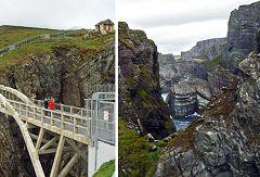 Mizen Head: vista dal ponte