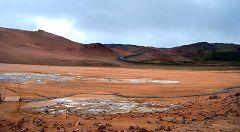 Námaskarð: area geotermica