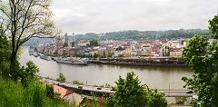 Passau: Danubio