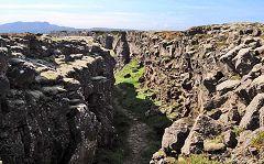 Þingvellir: faglie