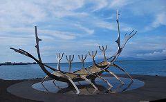 Reykjavík: nave vichinga