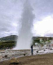 Haukadalur - geyser Strokkur