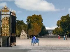 Giardino delle Tuileries: ingresso