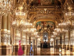 Opéra Garnier, le grand foyer