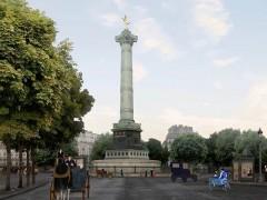 Piazza della Bastiglia, colonna di luglio