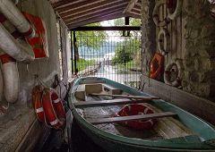 Alserio: deposito per barca