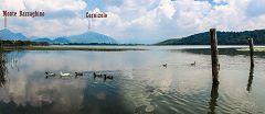 Alserio: vista sul lago