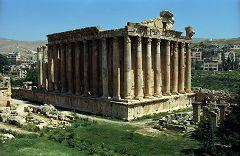 Baalbek: Tempio di Bacco
