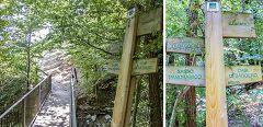 Baggero: cartello percorso oasi
