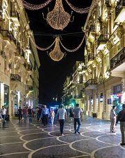 Luci della notte a Baku