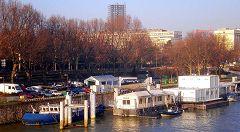 Porto e banchina Saint Bernard