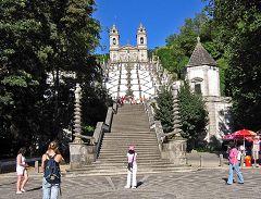 Braga: Bom Jesus do Monte - scalinata