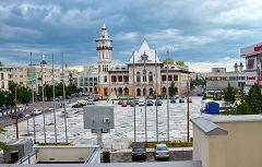 Buzau: palazzo comunale