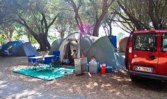 Calvi: camping
