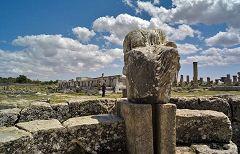 Cirene: tempio di Demetra e Kore
