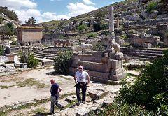 Cirene: fontana monumentale