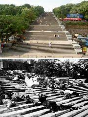 Odessa: scalinata Potemkin