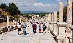 Efeso: strada di Marmo