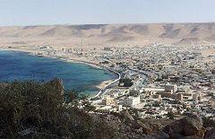 El-Salum dalla strada costiera