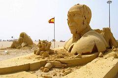 Figueira da Foz: statue di sabbia